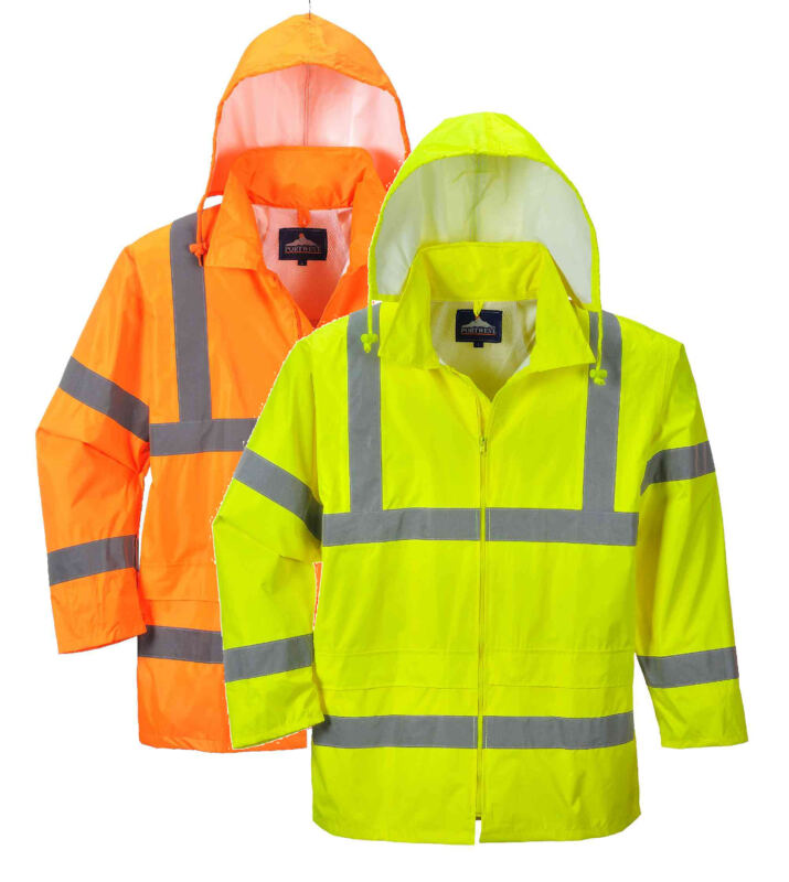 XXXL Arancione Portwest H440 Giacca Impermeabile ad Alta visibilit/à