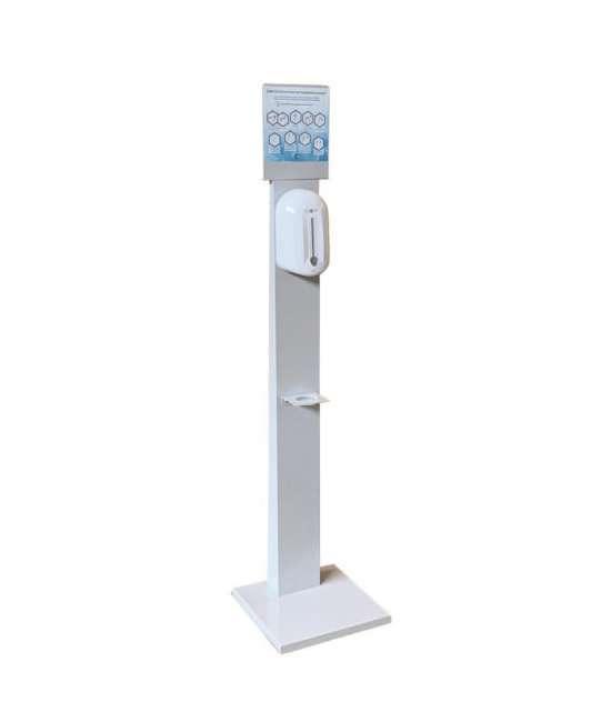 Piantana per dispenser gel igienizzante mani o sapone PIA003G