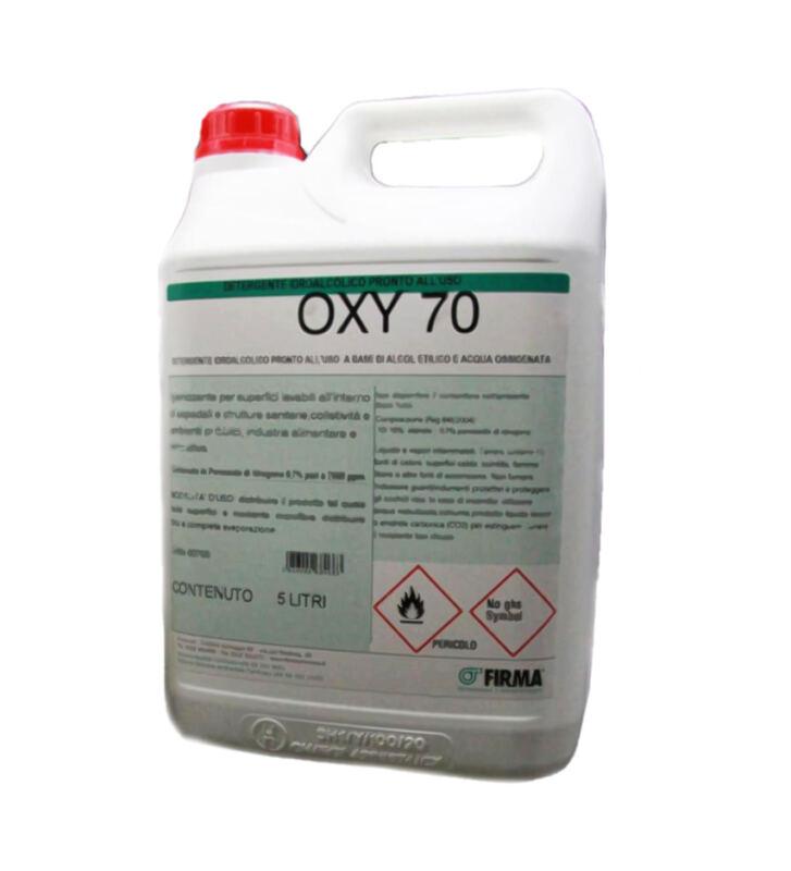 Liquido disinfettante per tappeto sanificante OXY 70